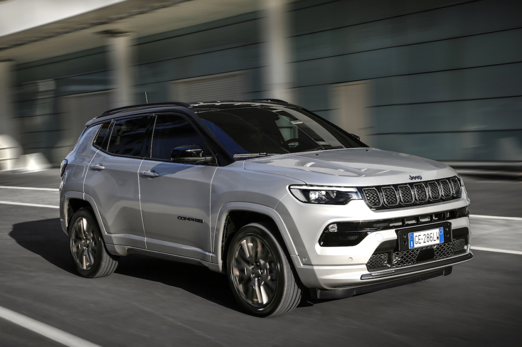 Jeep Compass 2021 restyling