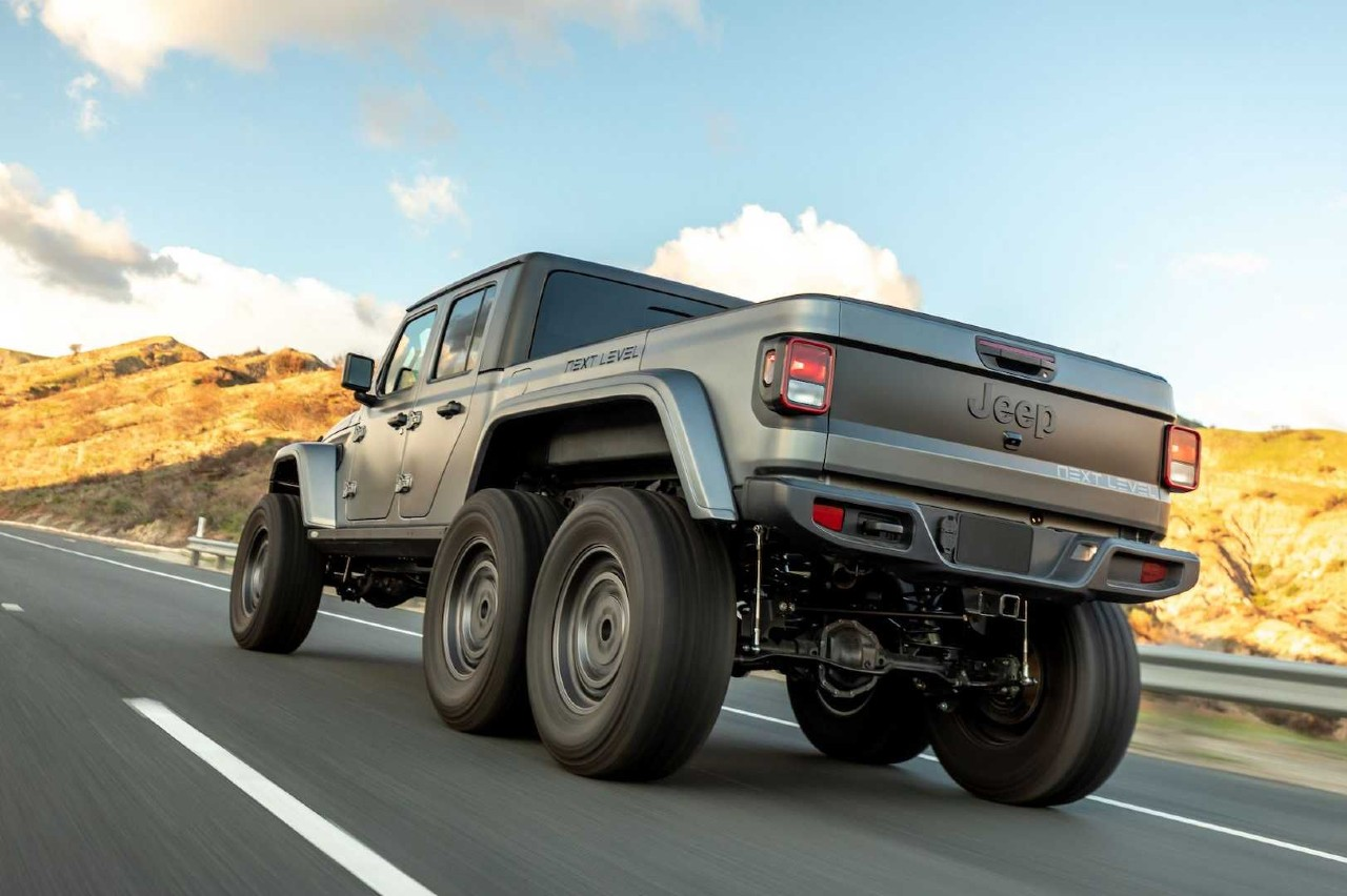 Jeep Gladiator 6x6 Next Level 3/4 trasera