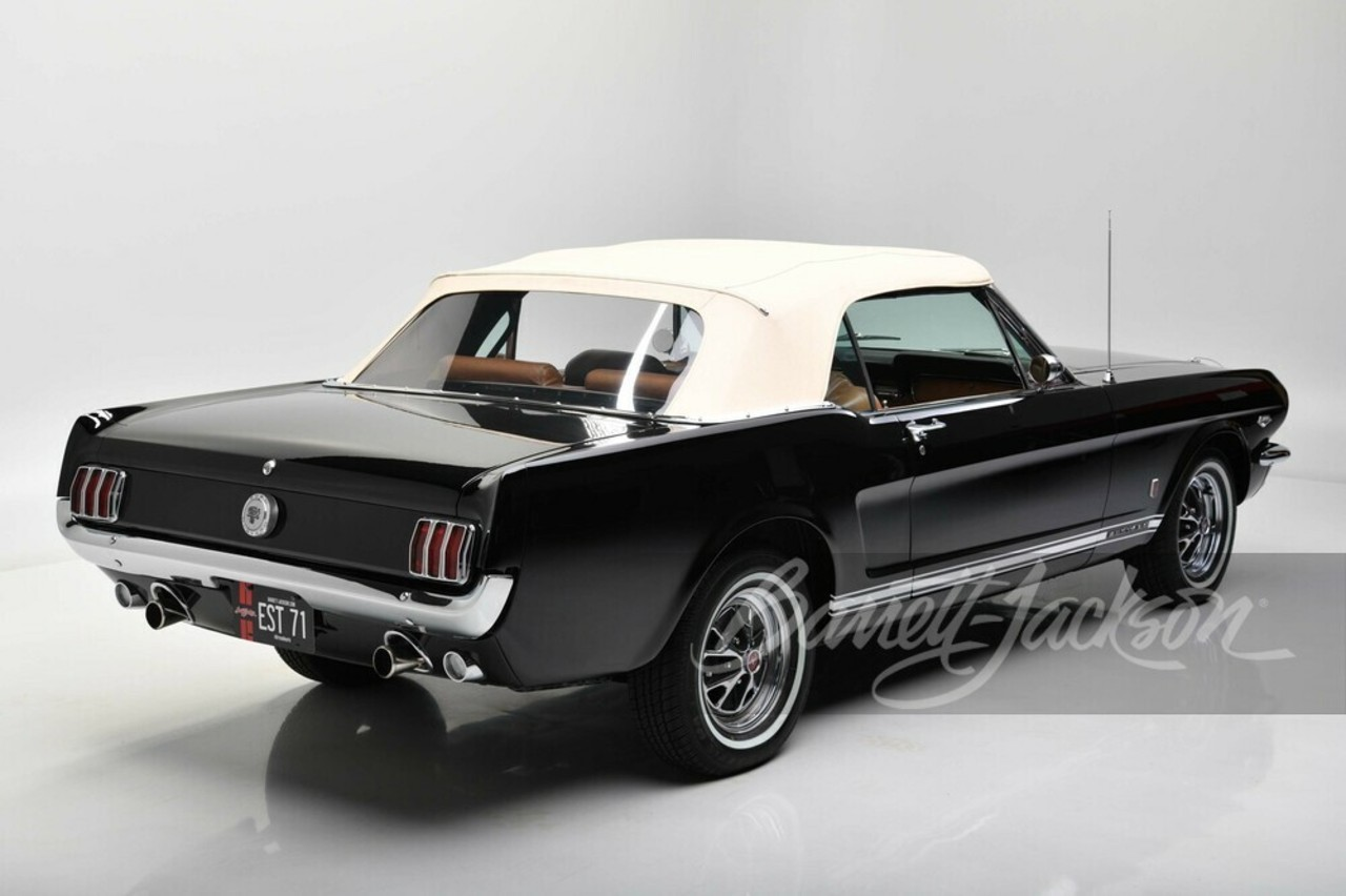 Ford Mustang Convertible 66 Henry Ford II