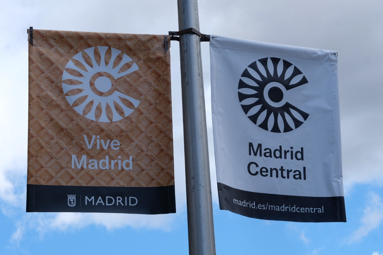 madrid central carteles