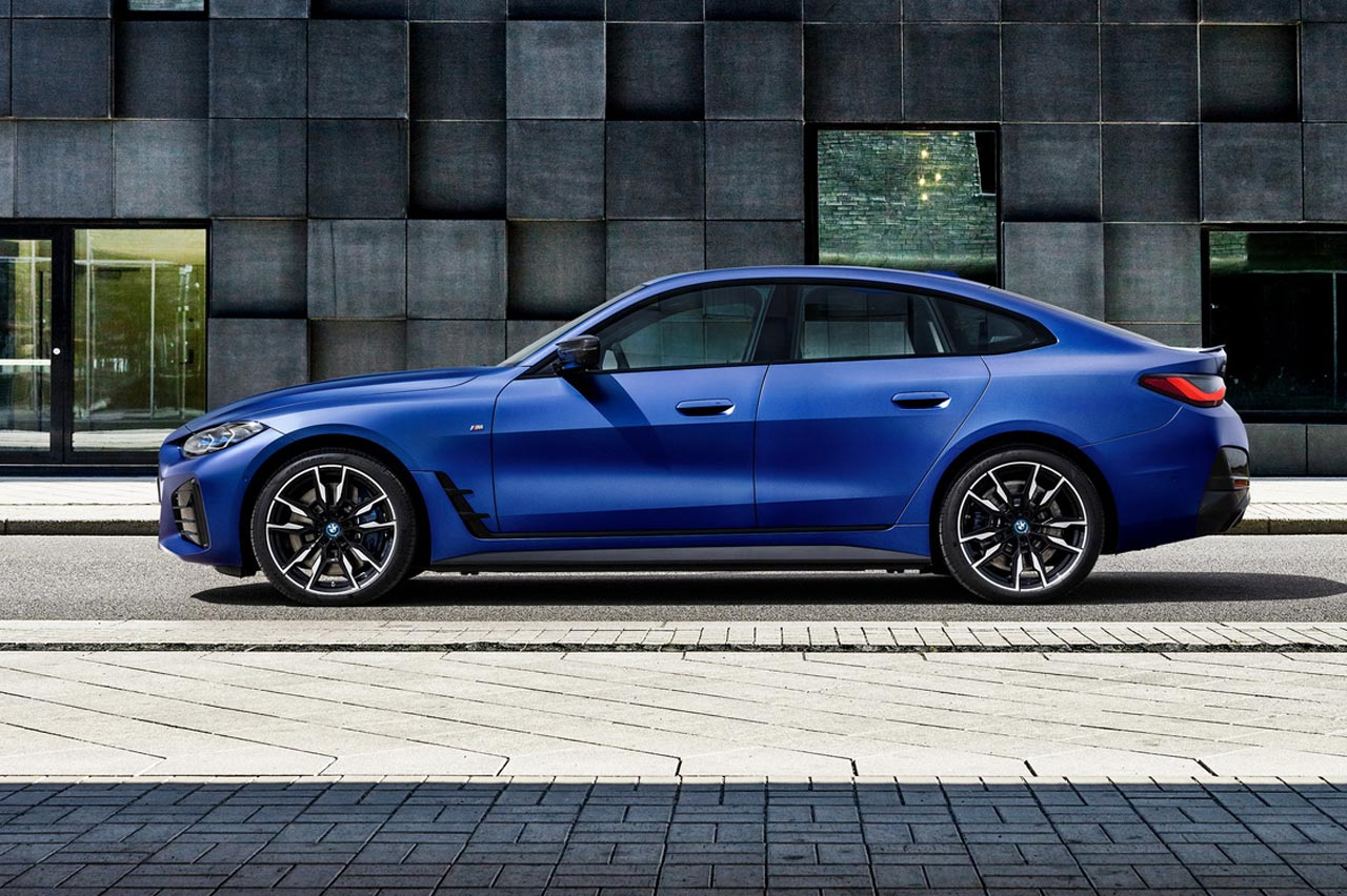 BMW i4 M50 lateral
