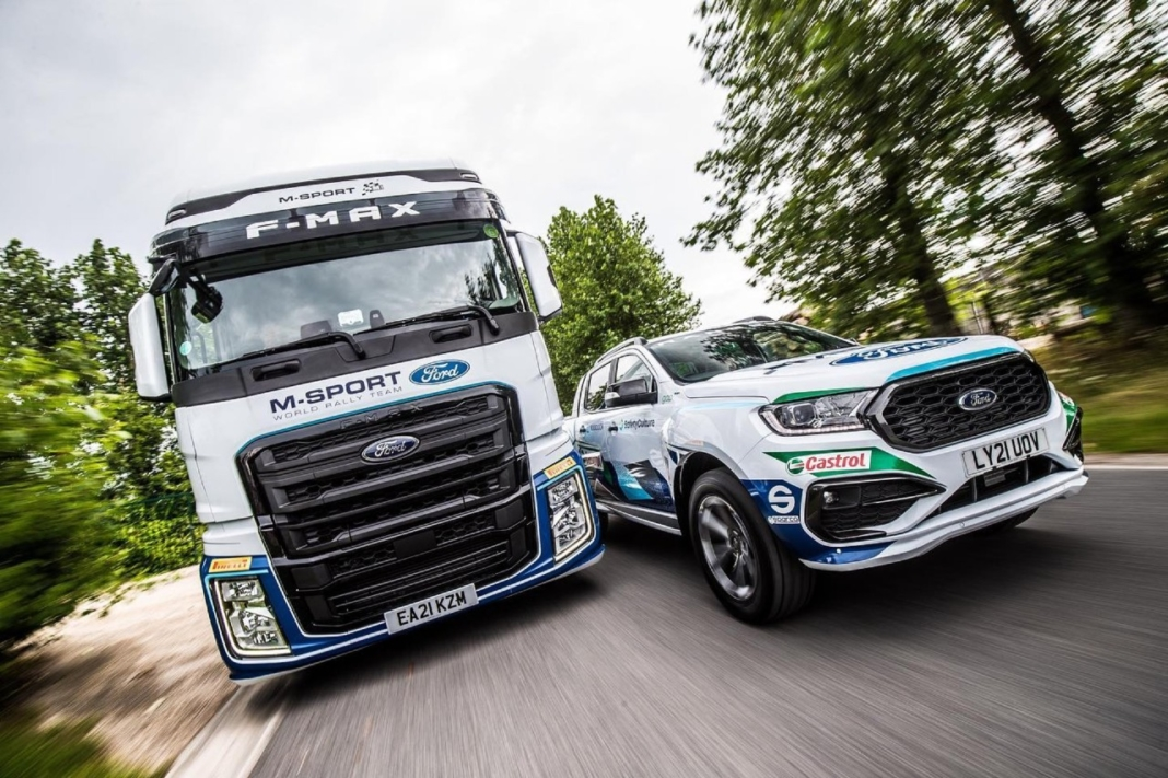 Ford Ranger MS-RT y Ford F-Max