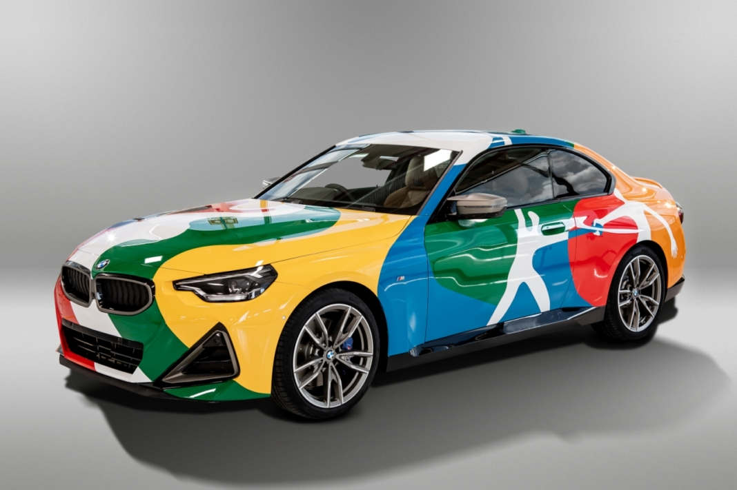 bmw serie 2 coupe 2022 art car
